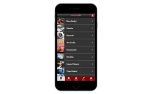 Dancextremo - Dans tutkusunun mobil uygulamaya yansıması