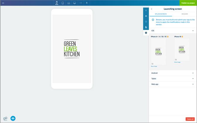 Guía paso a paso para crear la App de un restaurante