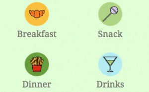 Cómo usar iconos de colores en el menú de tu app