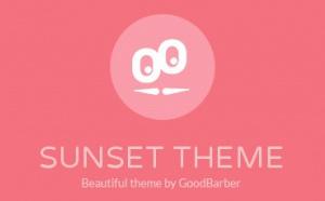 Nouveau thème: Sunset