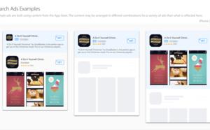 Novità su AppStore: con Search Ads sarà più facile trovare la tua app iOS sullo store.