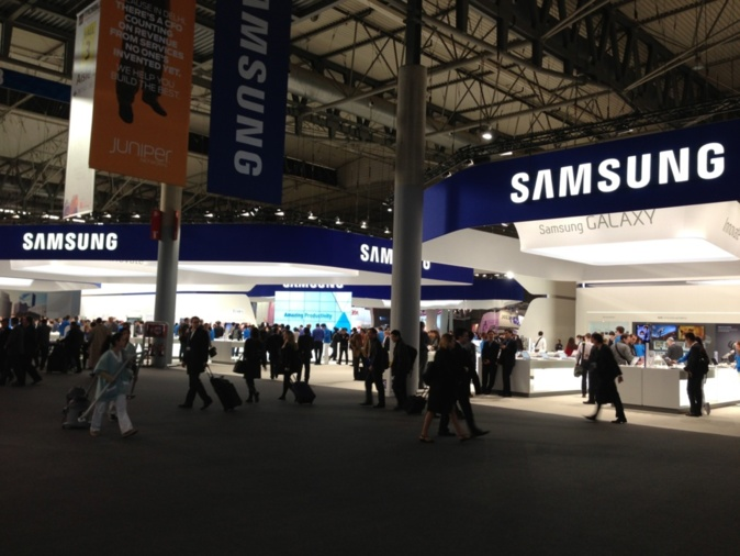 Samsung Booth Overview