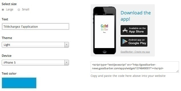 How to promote your app on your website?