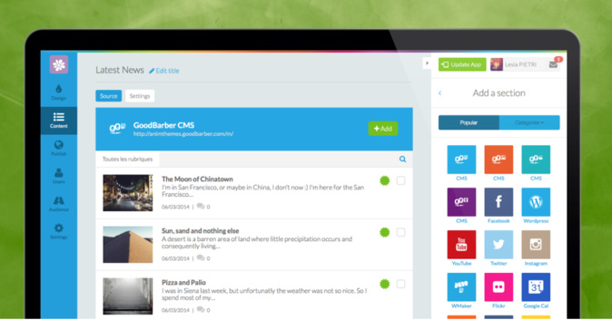 GB3 - Empowering Apps With The New CMS