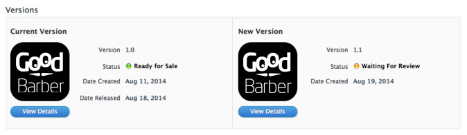 Updating Your GoodBarber App