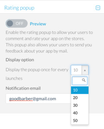 Add a Rating Pop-Up to Your Beautiful App