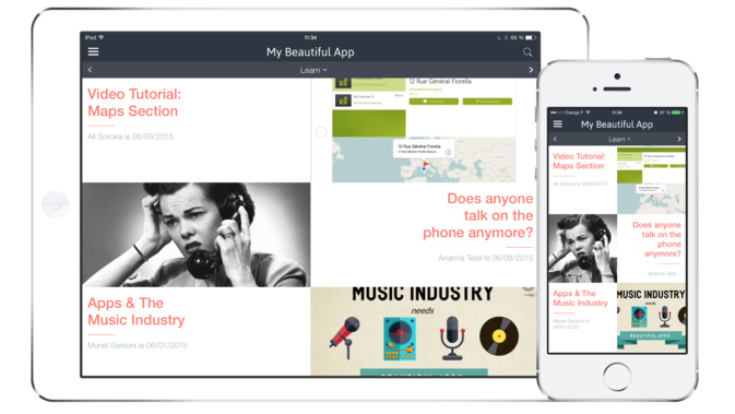 New Beautiful Templates for your App!
