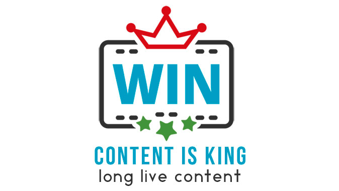 Content is king: long live content!