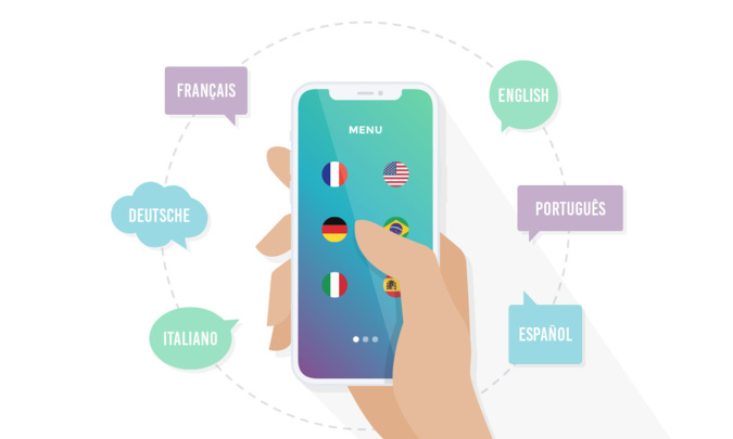 How to create a multi-language app