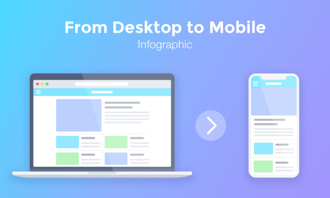 How to transition from a desktop product to mobile? (Infographic)