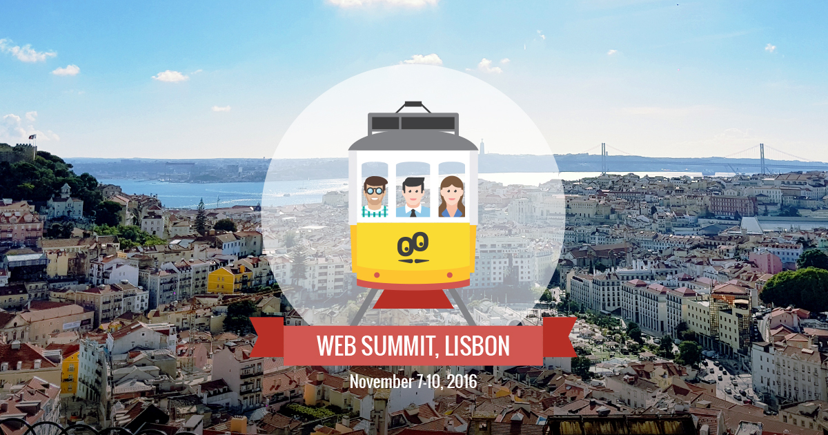 Web Summit 2016 here we go! The GoodBarber Team is ready
