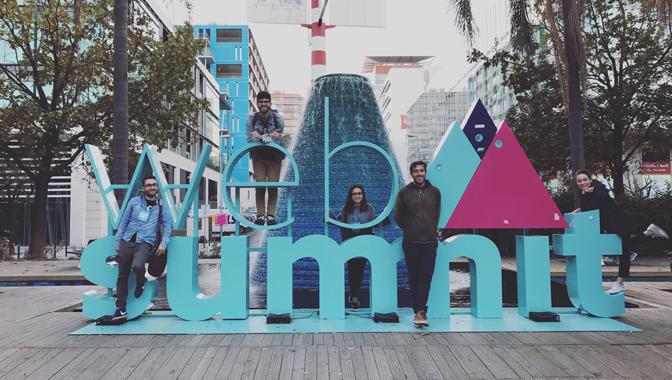 The GoodBarber Team at Web Summit 2016