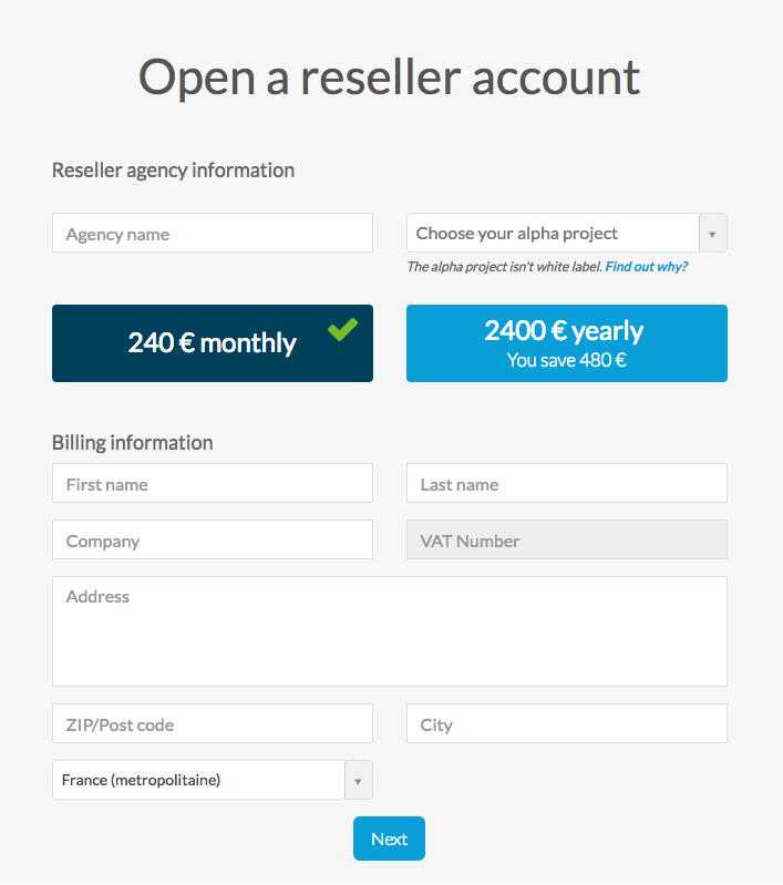 Introduction to the Reseller Dashboard