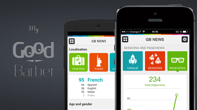 Discover the brand new My GoodBarber app!