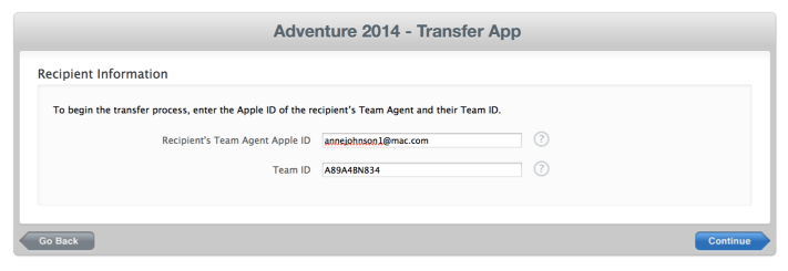 A Topic for GoodBarber Ninjas: How to Transfer Your iOS App From one Apple Developer Account to Another