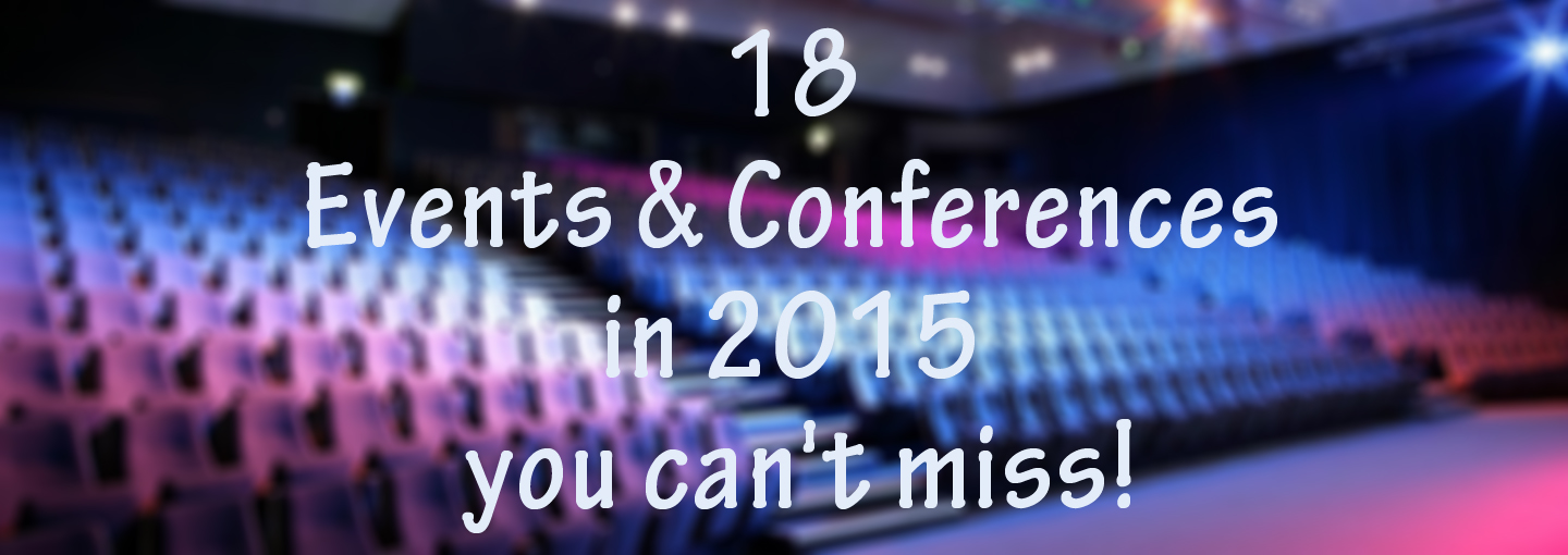 The Hottest Events of 2015