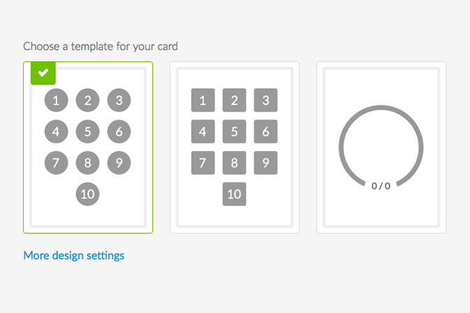 How to customize your Loyalty Card design