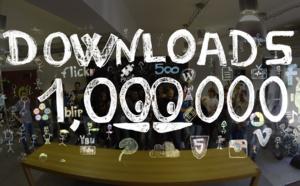 Celebrating 1 000 000 downloads!