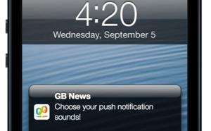 Choose your push notification sounds
