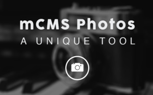 Our mCMS photos section: a unique tool