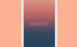 New theme: Sunset