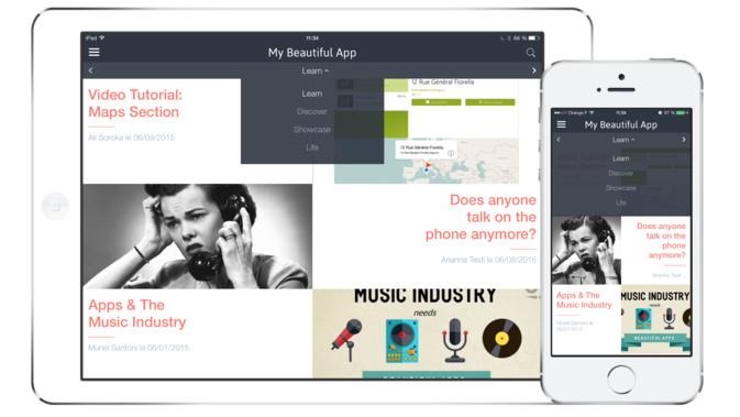 Novos Beautiful Templates para o teu App!